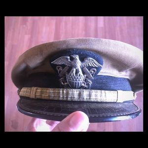 Vintage Berkshire military hat